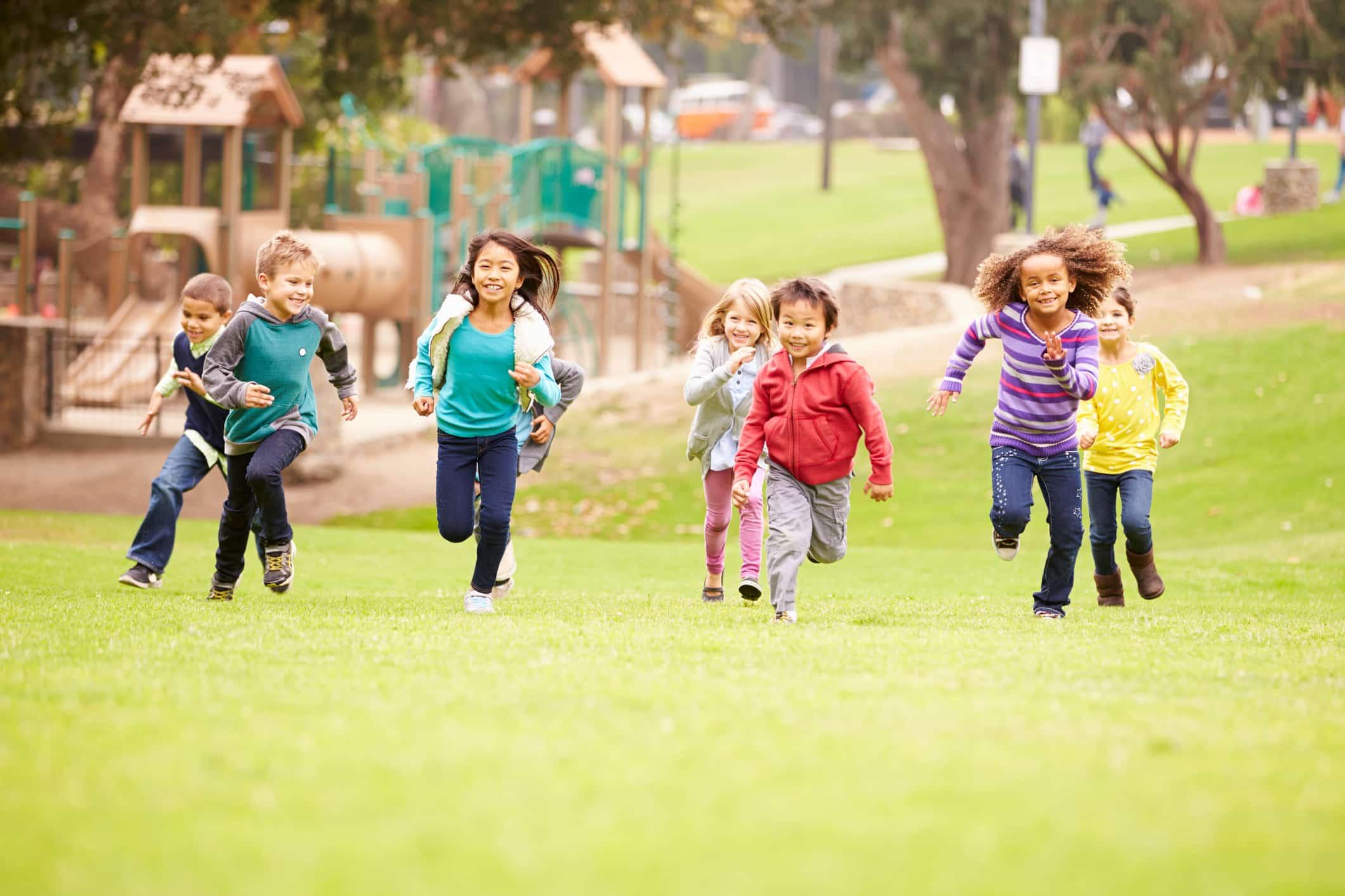 kinderdagverblijf met kinderen